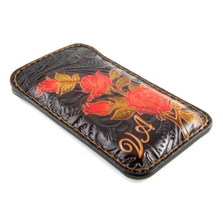 Cover a libro in pelle per iPhone X ৩ 33 mani