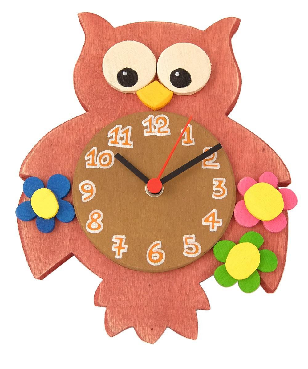 orologi da parete legno per bambini