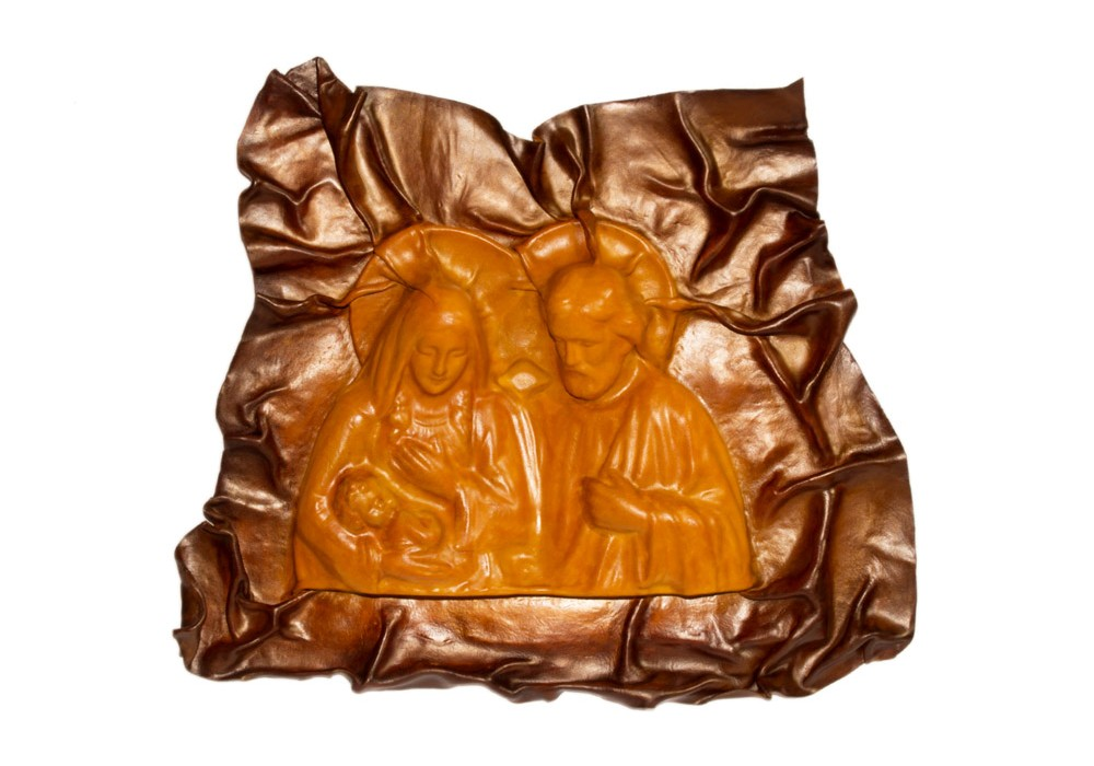 Sacra Famiglia - Cuoio