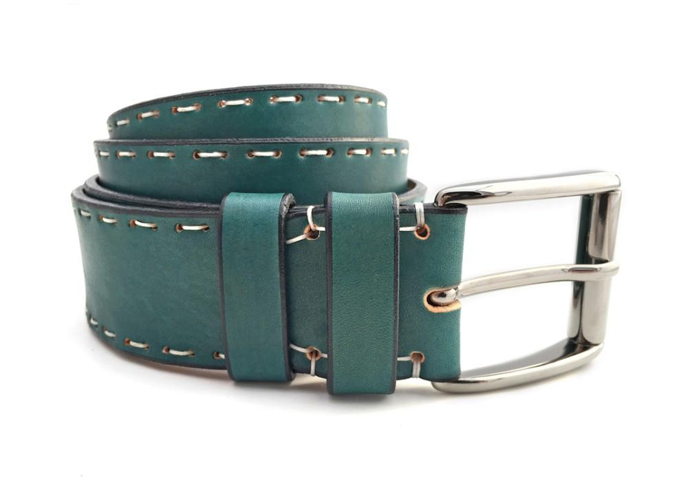 Cintura personalizzabile verde giada