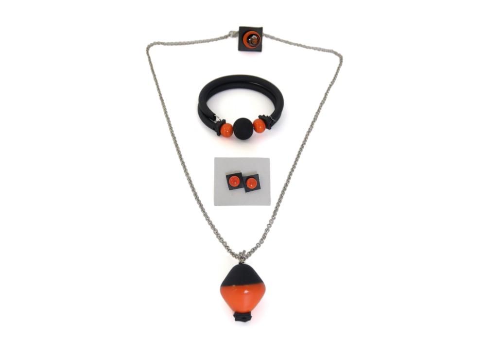 Set gioielli in vetro di murano - Mercurio