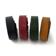 Cintura artigianale in pelle colori vari
