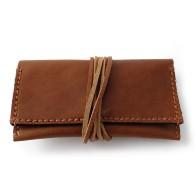 Portatabacco con tasca porta filtri esterna