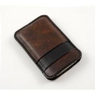 Custodia in pelle per iPhone 6/6 Plus con riga nera