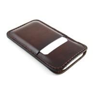 Custodia in pelle per iPhone 6/6 Plus con due tasche