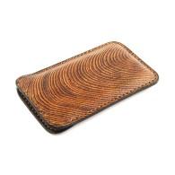 Custodia in pelle per iPhone 5/5s effetto legno