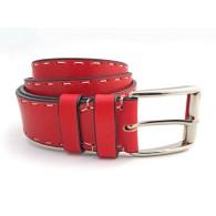Cintura personalizzabile rosso rubino