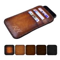 Custodia in pelle per iPhone 6/6 Plus con tre tasche