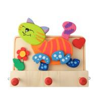 Appendiabiti cameretta bambini - Gatto