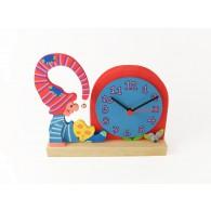 Orologio da tavolo per bambini - Gnomo
