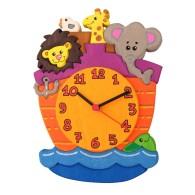 Orologio da parete per bambini - Arca degli animali