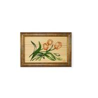 Quadretto decorato con mazzo di tulipani