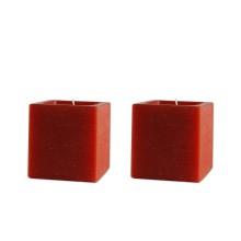 Set 2 candele profumate cubo
