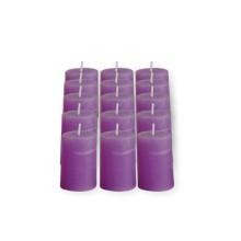 Set 15 candele profumate cilidriche