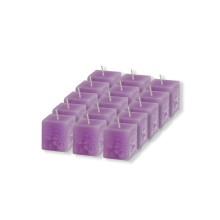 Set 15 candele profumate cubo