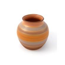 Vaso in ceramica moderno arcobaleno