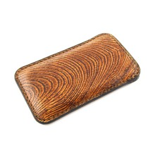 Custodia in pelle per iPhone 6/6 Plus effetto legno
