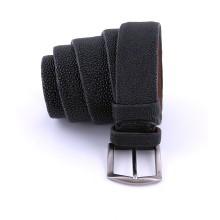Cintura artigianale in pelle di razza