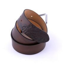 Cintura artigianale in pelle decorata