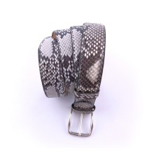 Cintura artigianale in pitone roccia