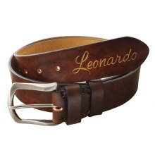 Cintura personalizzabile in pelle