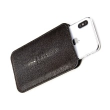 Custodia personalizzabile in pelle di razza per iPhone XS/XS Max