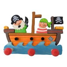 Appendiabiti cameretta bambini - Pirati