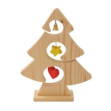 Albero natalizio in legno