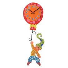 Orologio da parete per bambini - Gnomo con pallone