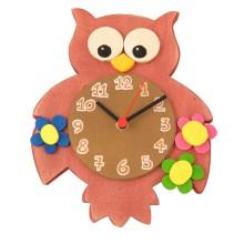 Orologio da parete per bambini - Gufo