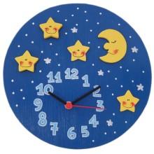 Orologio da parete per bambini - Cielo stellato