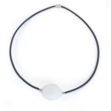 Collana in vetro di murano - White Stone