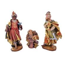 Statuine in legno presepe: Re Magi